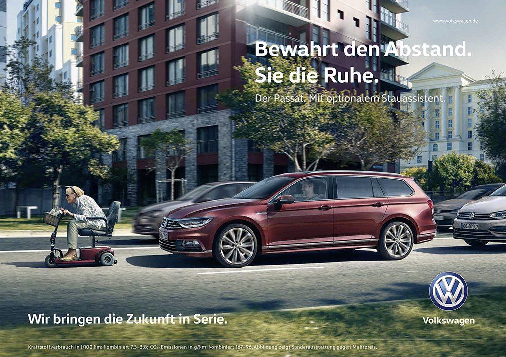 So funktioniert der Stauassistent von Volkswagen